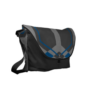Panal (Blue) Messenger Bag