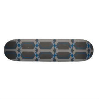 Panal (Blue) Skateboard Deck