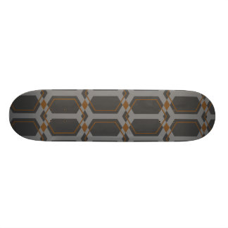 Panal (Brown) Skateboard Deck