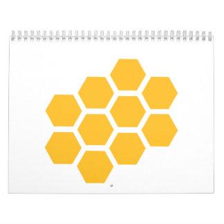 Panal Calendario De Pared