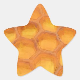 Panal de Shanah Tovah que dibuja Rosh feliz Calcomanía Forma De Estrella Personalizada