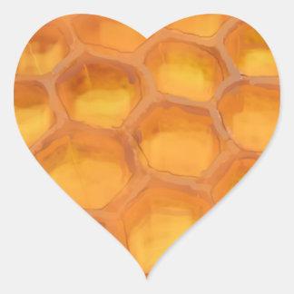 Panal de Shanah Tovah que dibuja Rosh feliz Pegatina Corazón Personalizadas