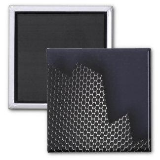 Panal del metal iman para frigorífico