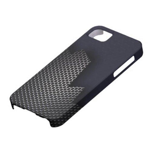 Panal del metal iPhone 5 Case-Mate protector