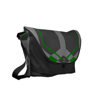 Panal (Green) Messenger Bag