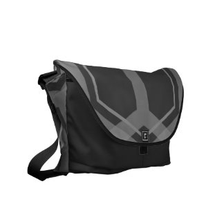 Panal (Grey) Messenger Bag