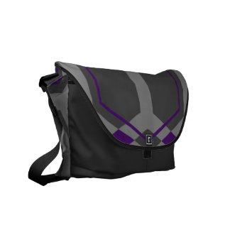Panal (Indigo) Messenger Bag