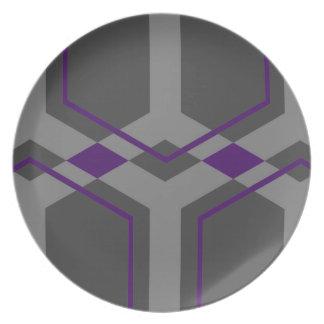 Panal (Indigo) Plate
