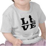 Pañal Luv T del paño Camisetas
