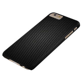 Panal negro funda barely there iPhone 6 plus
