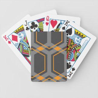 Panal (Orange) Playing Cards