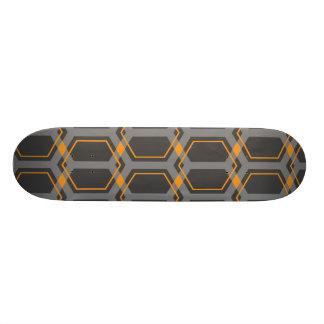 Panal (Orange) Skateboard Deck