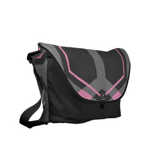 Panal (Pink) Messenger Bag