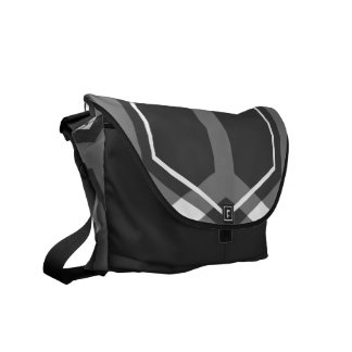 Panal (White) Messenger Bag
