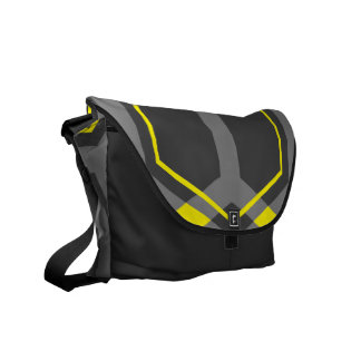 Panal (Yellow) Messenger Bag