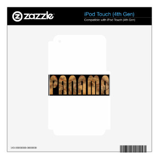 panama1864 decal for iPod touch 4G