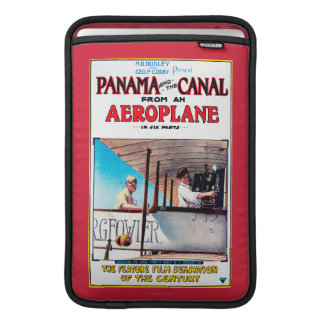 Panama and the Canal Aeroplane Movie Promo Poste MacBook Sleeve