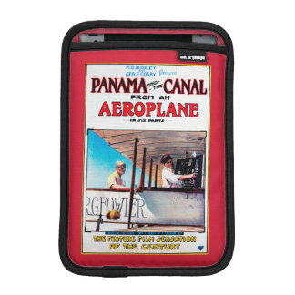 Panama and the Canal Aeroplane Movie Promo Poste Sleeve For iPad Mini