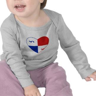 Panama Banner Heart T-Shirt