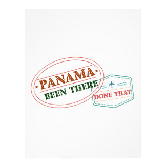 Panama Been There Done That Letterhead