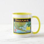 Panama Brand ~ Vintage Fruit Crate Label Mug
