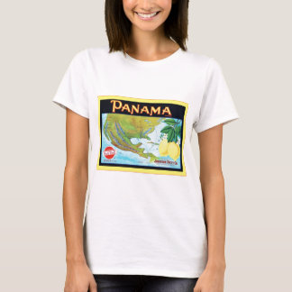 Panama Brand ~ Vintage Fruit Crate Label T-Shirt