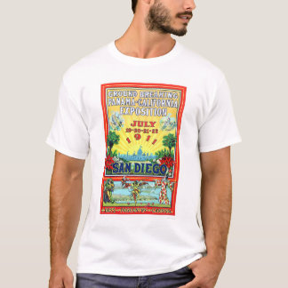 Panama - California Exposition in San Diego 1911 T-Shirt
