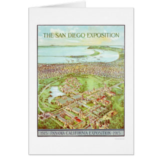 Panama - California Exposition in San Diego 1915 Card