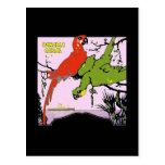 Panama Canal Parrots Postcards