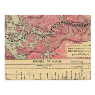 Panama Canal Post Card