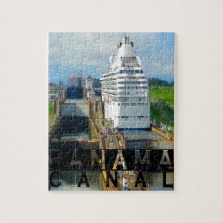Panama Canal Souvenir Jigsaw Puzzle