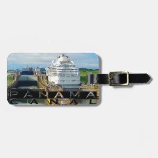 Panama Canal Souvenir Luggage Tag