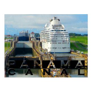 Panama Canal Souvenir Postcard