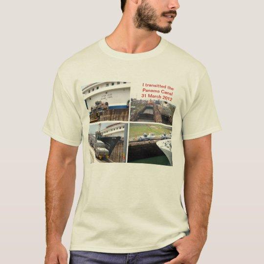 Panama Canal Transit T-Shirt