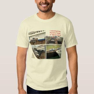 Panama Canal Transit T-shirts