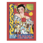 Panama Carnaval 1937 Post Cards