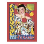 Panamá Carnaval 1937 Postales