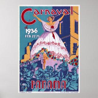 Panamá Carnaval Póster