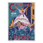 Panamá Carnaval Posters