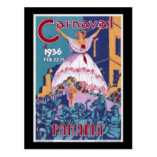 Panamá Carnaval Postal