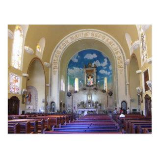 Panama Church (Postcard) Postcard