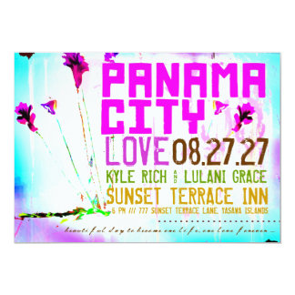PANAMA CITY 2 Destination Invitation