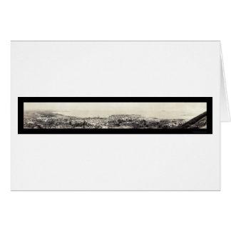 Panama City Ancon Hill Photo 1913 Card