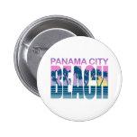 Panama City Beach 2 Inch Round Button