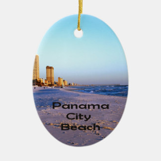Panama City Beach Ceramic Ornament