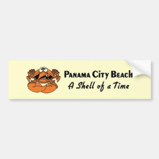 Panama City Beach Crab Bumper Sticker