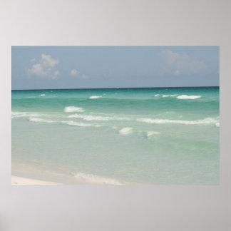 Panama City Beach Florida canvas art print