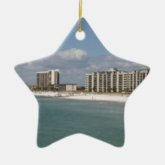 Panama City Beach, Florida Ceramic Ornament