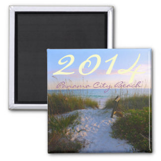 PANAMA CITY BEACH - Florida - CUSTOMIZE YEAR Magnet