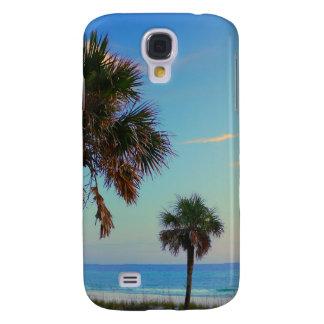 Panama City Beach, Florida palm trees Samsung Galaxy S4 Cases
